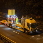 Highways England starting automatedcone laying vehicle trials
