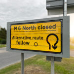 SWARCO Traffic installs reliable signage solution along the M6 for Highways England