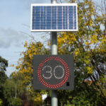 SWARCO Traffic Installs Speed Warning Signs in North Yorkshire