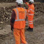 Contractor hails Clearview social distancing tags keeping staff safe at work on Leeds-Manchester rail project