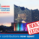 World Congress call for contributions deadline extended