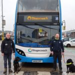 Guide dog puppies get on board with help from Bus Users