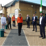 DfT-funded Energy-generating floor installed at railway station
