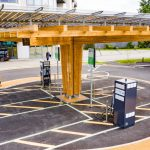 Yunex Traffic rapid chargers at heart of new EV hub in Somerset